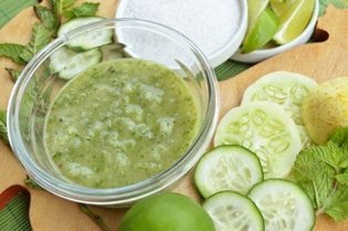 Cucumbers for facial rejuvenation
