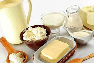Face care on the basis of milk and dairy products